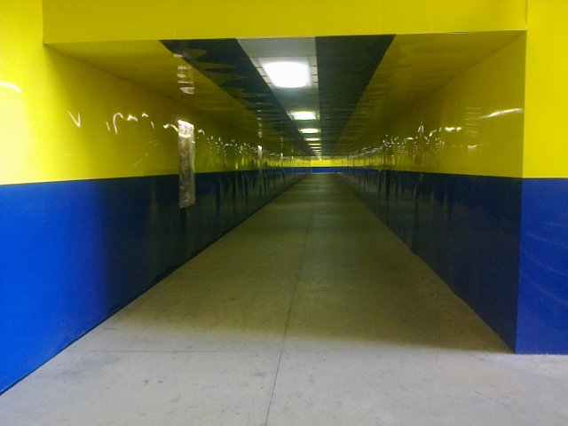 new underpass